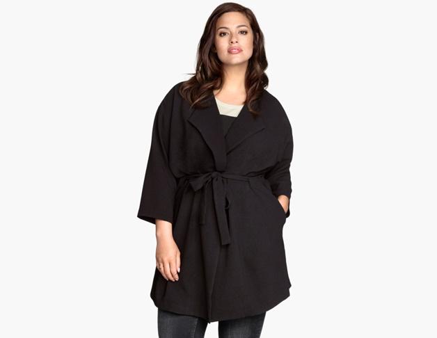 plussize draped coat 1 - Wishlisted! | Plussize draped coat