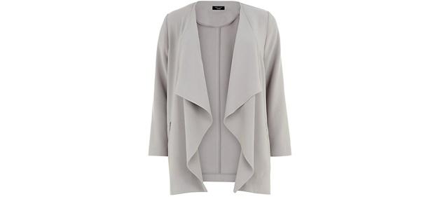 plussize draped coat 2 - Wishlisted! | Plussize draped coat