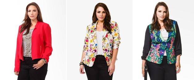 plussize fleurige jasjes 4 - Plussize | 10 x fleurige jasjes