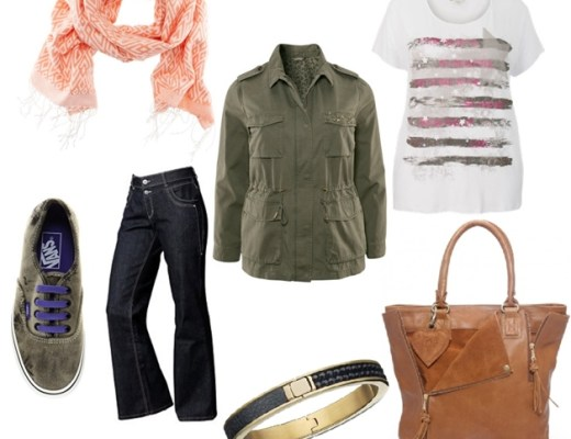 plussize outfit army jacket - Plussize outfit | The army jacket