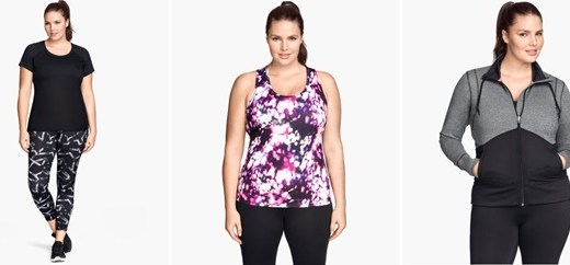 plussize sportkleding 1 - 10 x Plus size sportkleding (web)winkels