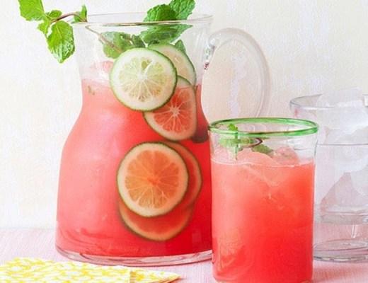 recepten verfrissende zomerdrankjes 1 - Recepten | Verfrissende zomerdrankjes