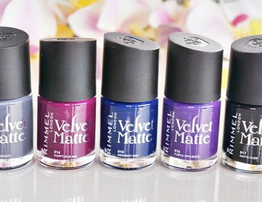 rimmel velvet matte nagellak 1 - Love it! | Rimmel velvet matte nagellak