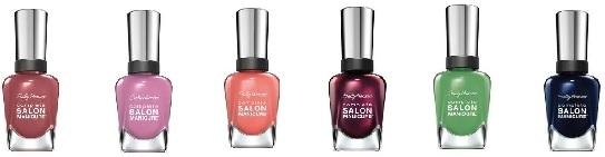 sally hansen complete salon manicure lente 2015 - Sally Hansen | Peach of Cake & Belle of the Ball