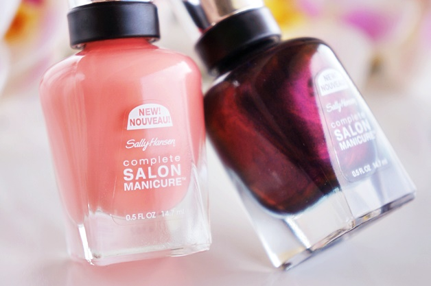 sally hansen complete salon manicure peach of cake belle of the ball review swatches 6 - Sally Hansen | Peach of Cake & Belle of the Ball