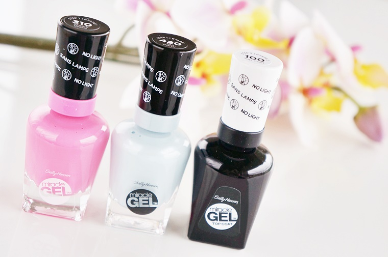 sally hansen miracle gel shock wave tea party 1 - Sally Hansen Miracle Gel | Shock Wave & Tea Party