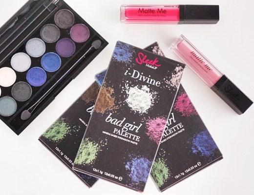 sleek bad girl palette matte me petal brink pink review swatches 12 - Sleek Bad Girl palette & Matte Me lip creams