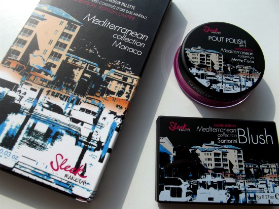 sleekmediterranean1 - Sleek Mediterranean collection Monaco, Santorini en Monte Carlo - foto's, swatches, review en look