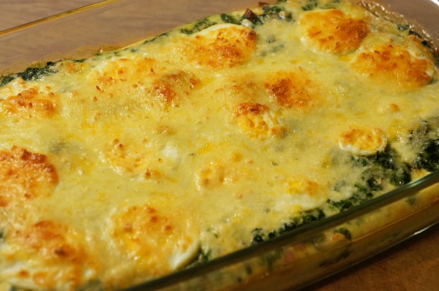 sonjabakkerlidl11 - Recept | Spinazie ovenschotel