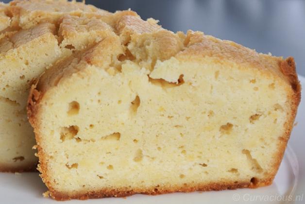 steviacake - Appel Kwark Cake Taart