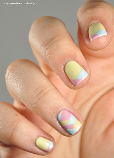 summer nail art inspiratie 3 - Inspiratie | Soft summer nail art