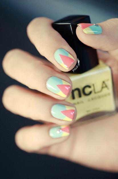 summer nail art inspiratie 7 - Inspiratie | Soft summer nail art