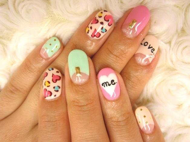 summer nail art inspiratie 8 - Inspiratie | Soft summer nail art