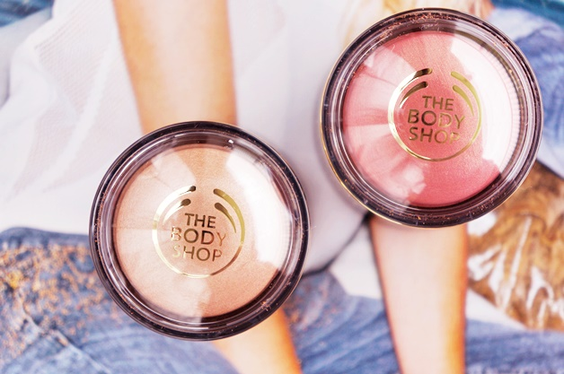 the body shop honey bronze highlighting dome review swatches 5 - The Body Shop | Honey Bronze highlighting dome