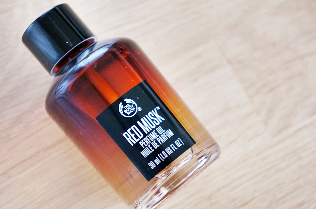 the body shop red musk 3 - Favoriete beautyproducten november 2014