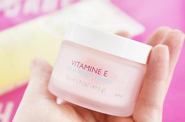the body shop vitamin e aqua boost sorbet moringa body sorbet 3 - The Body Shop | Vitamin E aqua boost sorbet & Moringa body sorbet