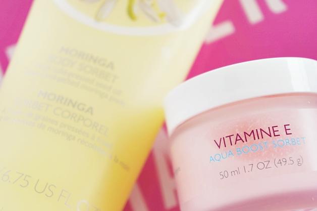 the body shop vitamin e aqua boost sorbet moringa body sorbet 5 - The Body Shop | Vitamin E aqua boost sorbet & Moringa body sorbet