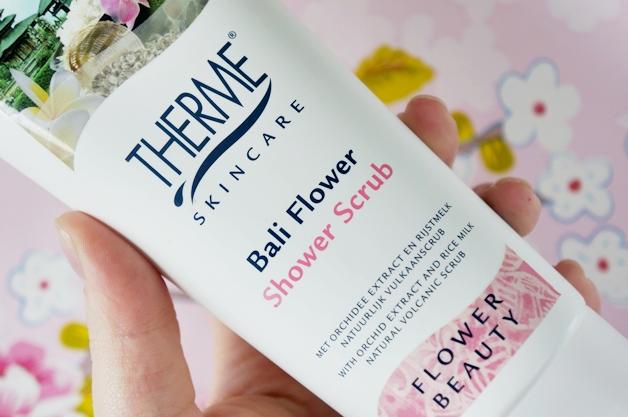 therme bali flower 2 - Een gladde en zachte zomerhuid in 3 stappen