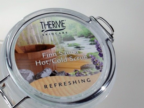 thermefinnscrub1 - Therme | Finn Sauna hot/cold scrub