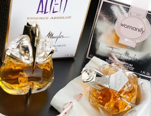thierrymuglerwomanityalienabsolue1 - Thierry Mugler   Alien essence absolue & Womanity 'leather'