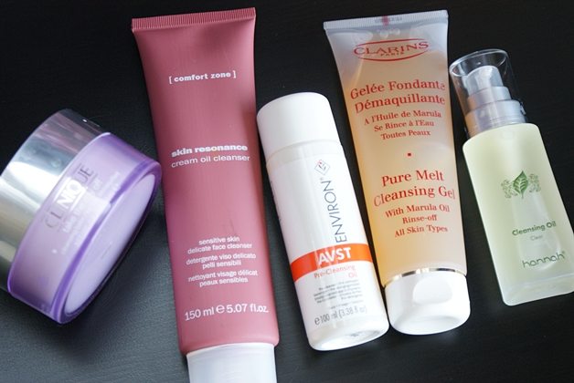 top5cleansers1 - Mijn top 5 'all-in-one' / oil cleansers