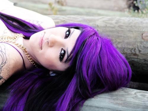 trend purple hair15 - Inspiratie | Paars haar