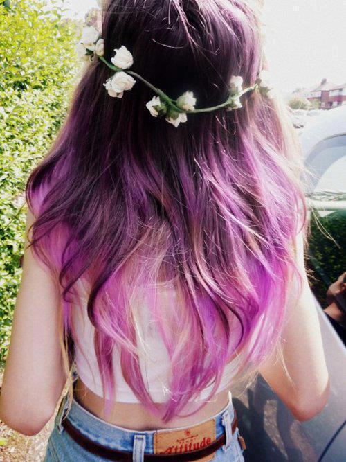 trend purple hair9 - Inspiratie | Paars haar