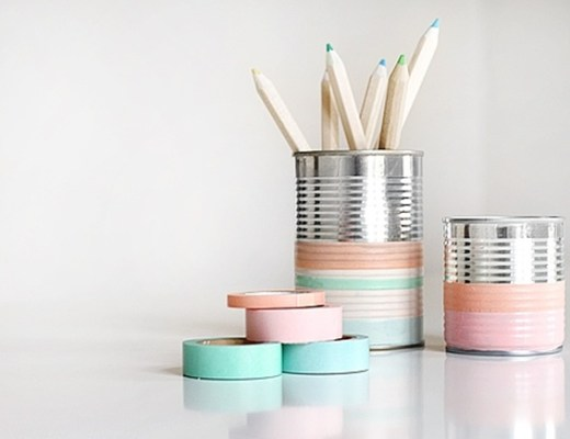 washi tape diy 7 - Inspiratie | Washi/masking tape DIY