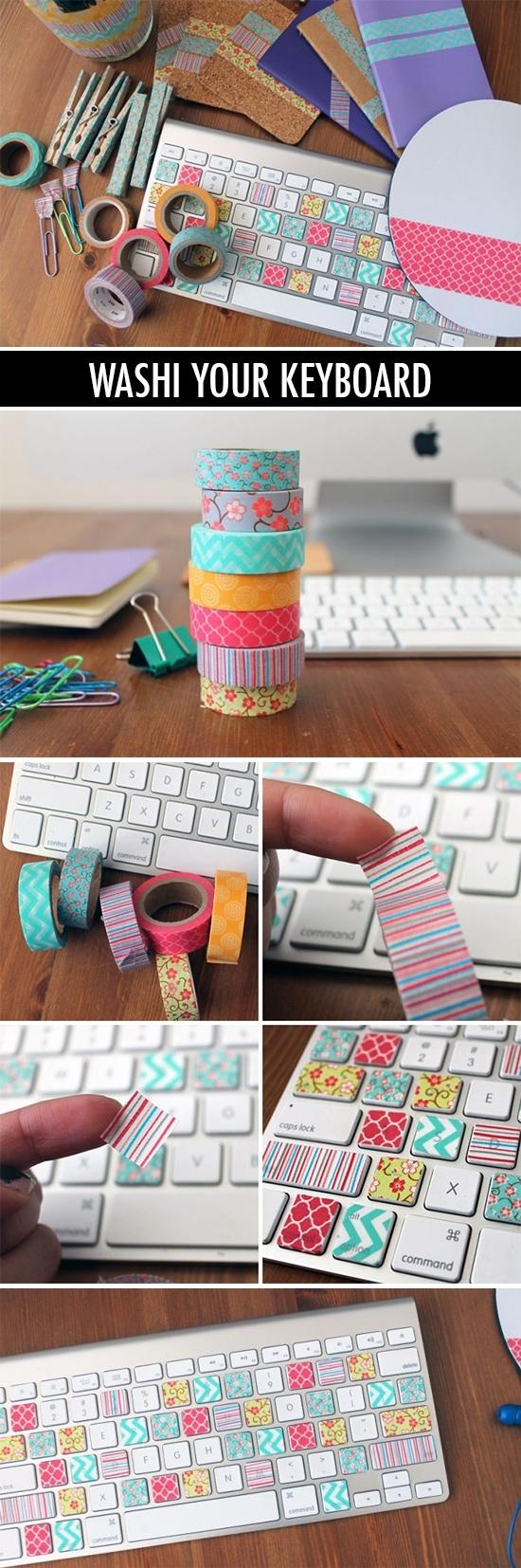 washi tape diy 9 - Inspiratie | Washi/masking tape DIY