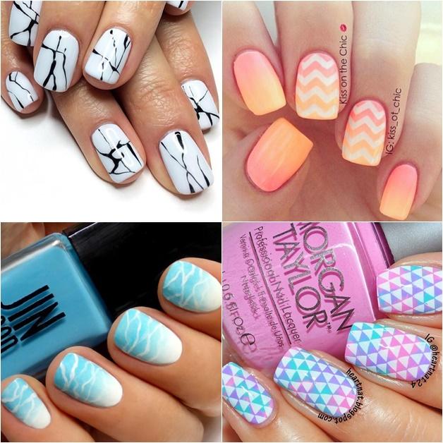witte nail art 1 - Inspiratie | Witte nail art (en de perfecte witte nagellak)