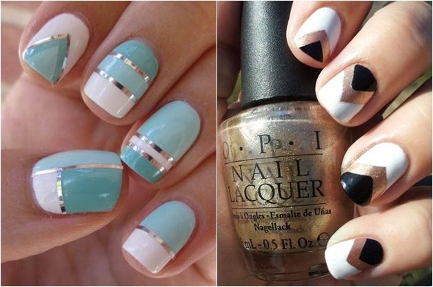 witte nail art 3 - Inspiratie | Witte nail art (en de perfecte witte nagellak)