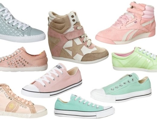 zalando1 - Inspiratie | Pastelkleurige sneakers