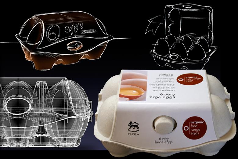 imagic egg box design