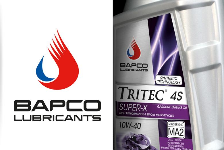Bapco Lubricants corporate identity, branding & packaging design by Curve Design Ltd