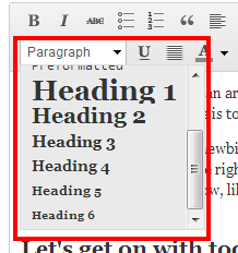 Text Style Editor