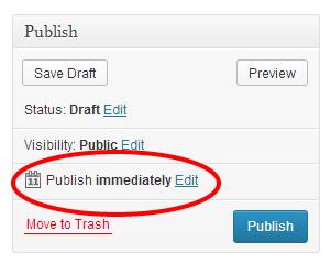 Click the Edit Button