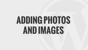 Adding Photos and Images
