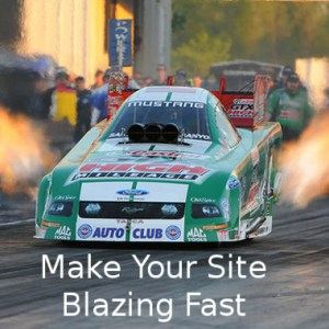 Blazing Fast Site
