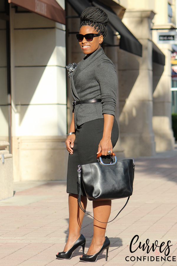 Curves and Confidence: Curvy Professional Work Wear