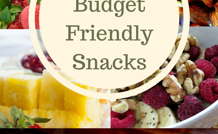 Top 5 Budget Friendly Snacks
