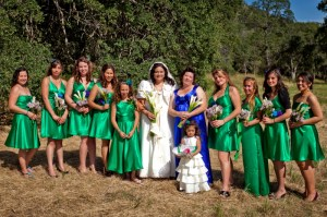 179 Hughes - bridal party