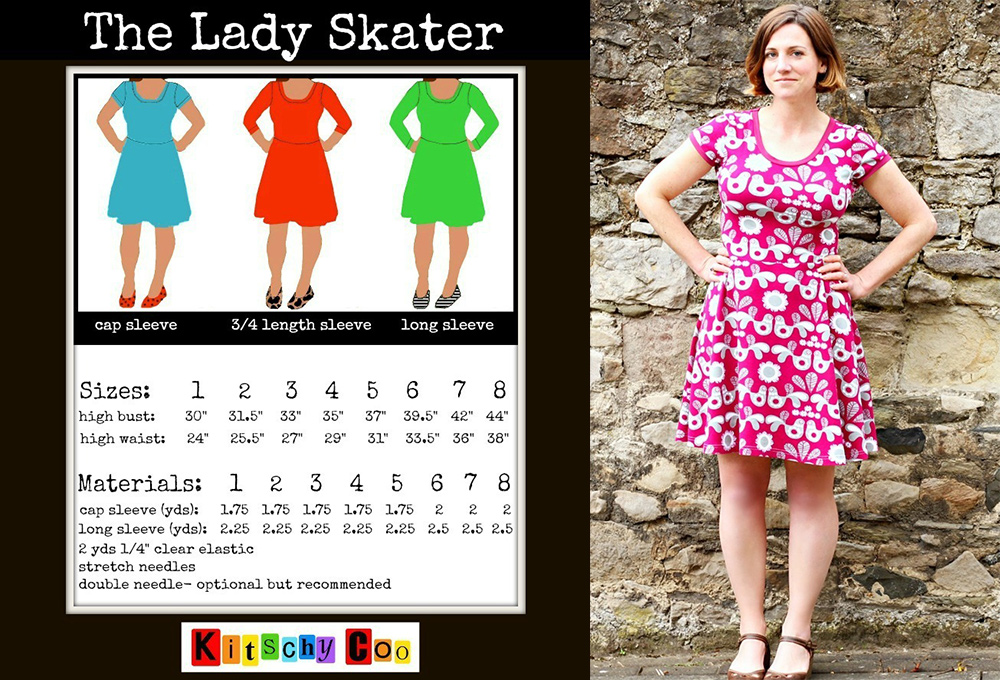 Tried and True Pattern: The Lady Skater Dress