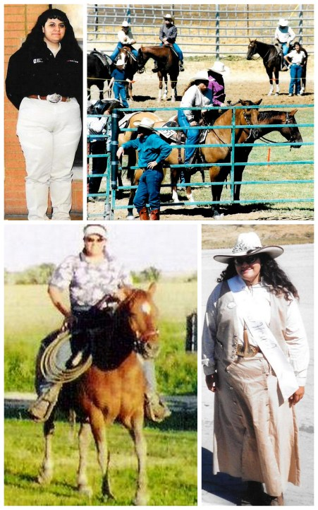 cowgirl collage