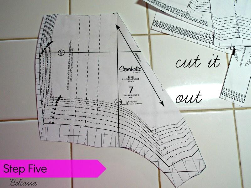 step 5 cut
