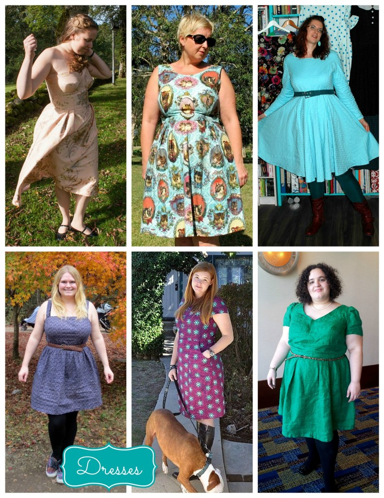 dresses collage 2