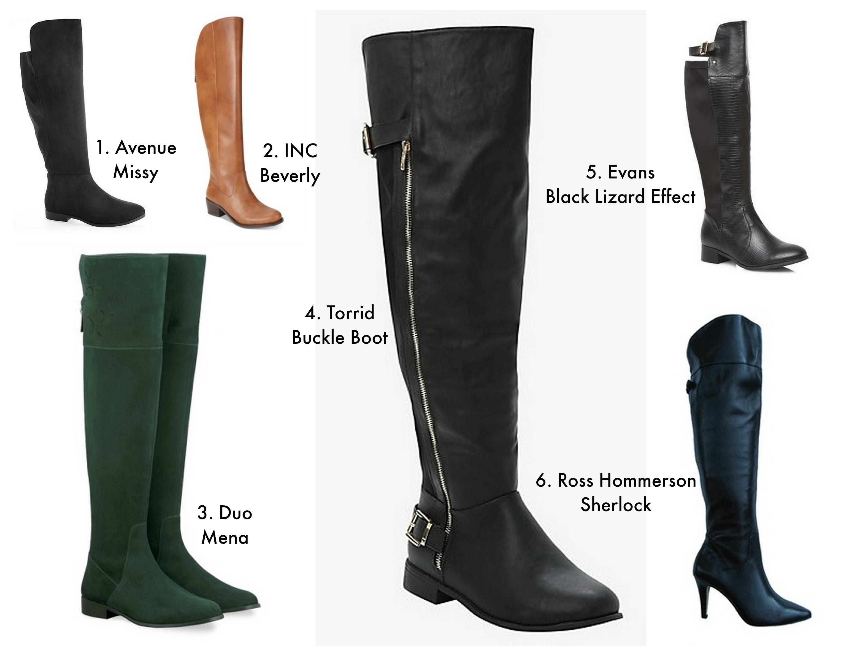 Curvy Fashion: Plus Size Boots