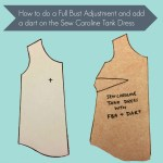 Tutorial: How to add a dart and an FBA to an unshaped top