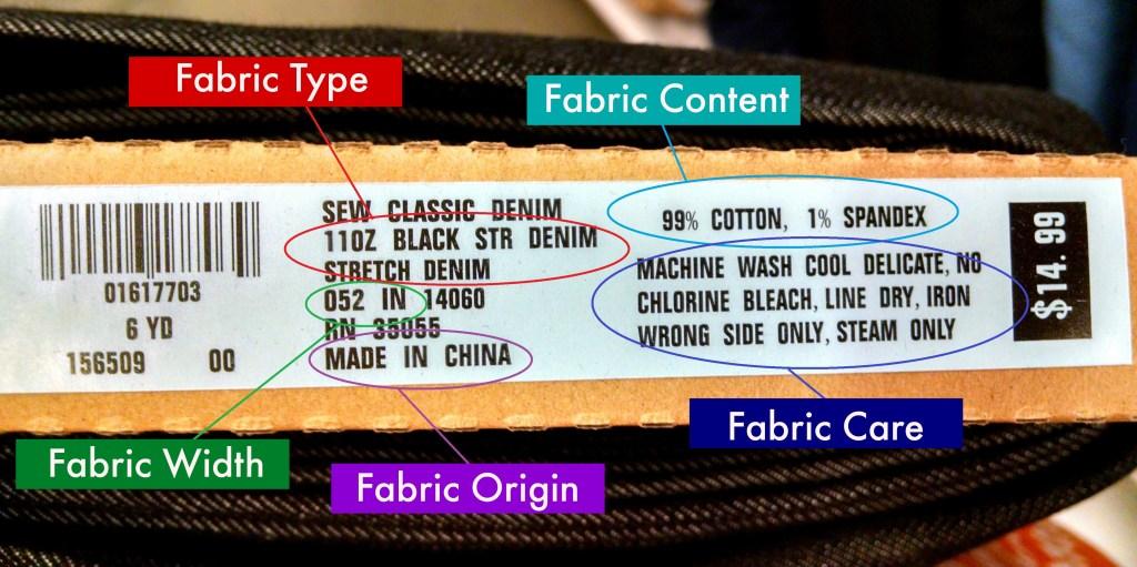 fabric bolt