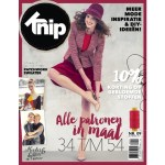 Knipmode Magazine restyled: Size range extended to size 54 for all patterns