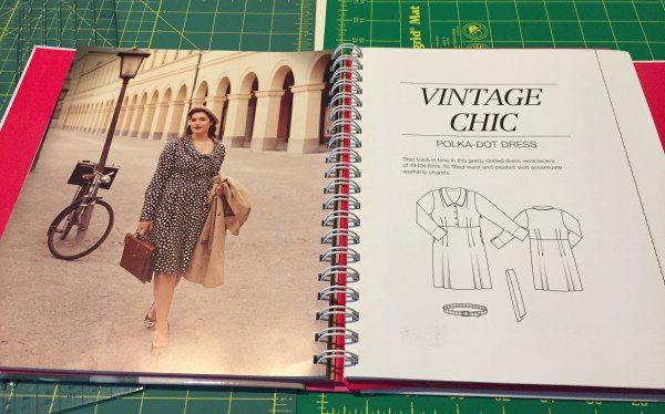"My ""Vintage Chic"" shirtdress pattern"